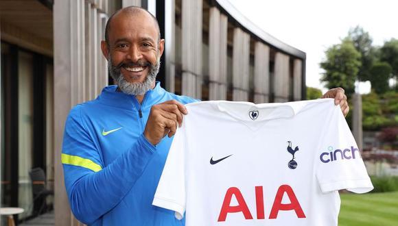 Nuno firma un contrato de dos años con los 'Spurs', que despidieron a Mourinho en abril y contrataron a Ryan Mason de forma temporal. (Foto: Tottenham)