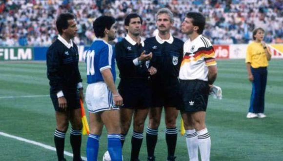 El alemán campeón del mundo que elogió a Diego Maradona. (Foto: AFP)