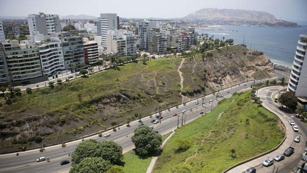 Barranco tiene una posición privilegiada frente al mar Pacífico. Foto: AFP