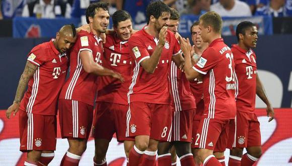 Bayern venció al Schalke 04 con goles de Lewandoski y Kimmich