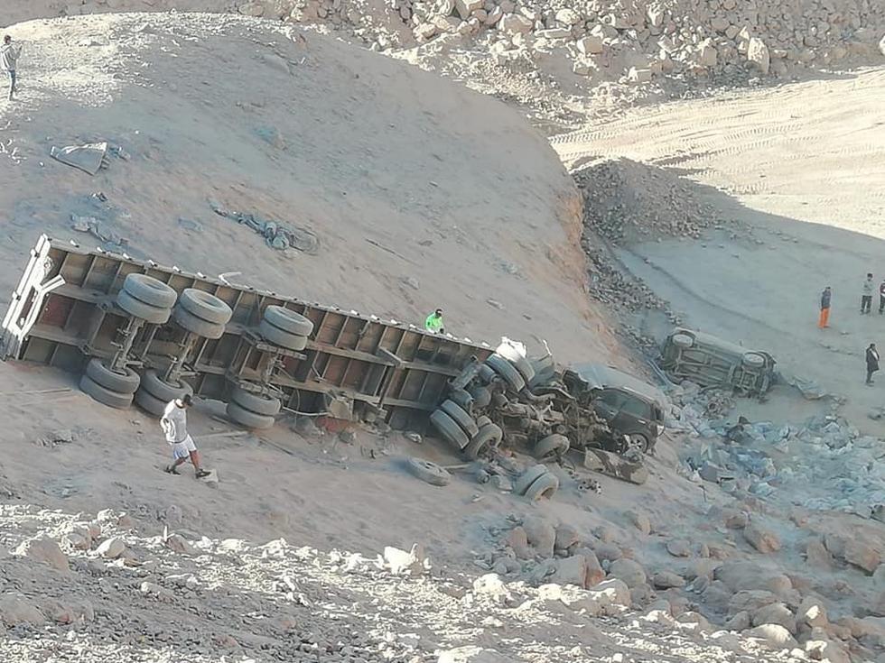 Choque múltiple en túnel de Vitor dejó un muerto en la Panamericana Sur. (Foto: El Informativo)