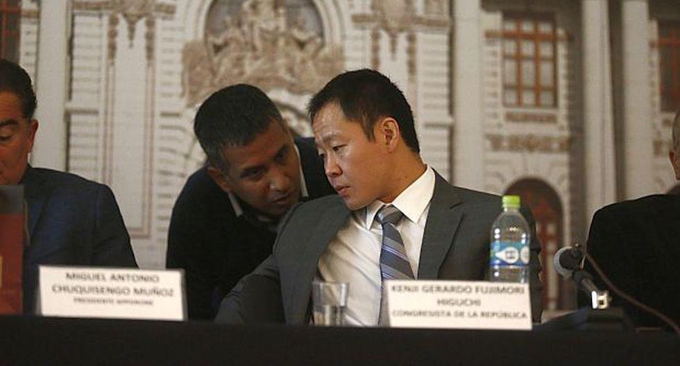 Fuerza Popular archivó denuncia contra Kenji Fujimori en Ética