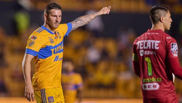 André Pierre Gignac marcó un gol en el Tigres vs. Monterrey por Liga MX