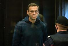 Autoridades rusas trasladan a Alexei Navalny a un hospital 20 días después de iniciar su huelga de hambre