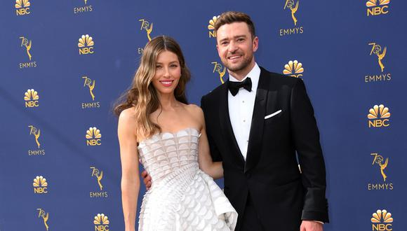 Jessica Biel y Justin Timberlake. (Foto: AFP)
