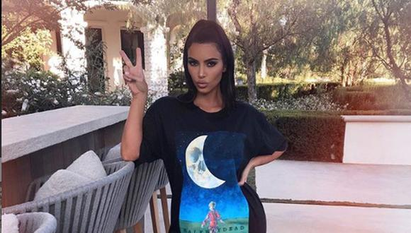 Kim Kardashian celebró el domingo 4 de agosto el Día Nacional de las Hermanas, tradicional fecha en Estados Unidos | Foto: @kimkardashian