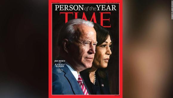 """La revista Time designa a Joe Biden y Kamala Harris como """"Personas del Año"""". (Time)."""