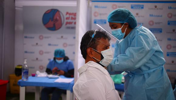 La meta para la sexta vacunatón es aplicar 600 mil dosis. (Foto: Hugo Curotto)