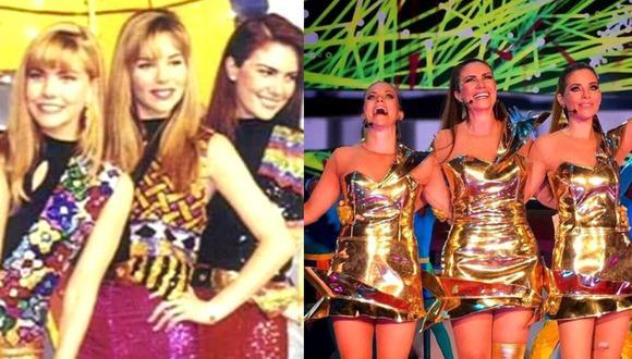 Nubeluz estrenó un 9 de setiembre de 1990 desde el Coliseo Amauta, bajo la conducción de Almendra Gomelsky y Mónica Santa María como Dalinas. Años más tarde, se unirían Xiomara Xibilé y Lilianne Braun. (Fotos: IG/ Difusión)
