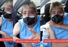 José Abelardo Gutiérrez Alanya, más conocido como 'Tongo', fue vacunado contra el COVID-19 [VIDEO]