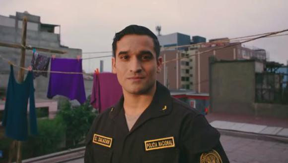 """Martin Velásquez interpreta a un policía en esta serie sobre los """"héroes de la pandemia"""". (Foto: Del Barrio Producciones)"""