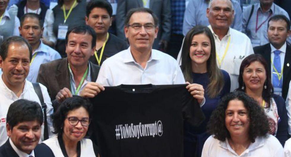 Presidente Martín Vizcarra dijo que hay que esperar la decisión de Uruguay para hablar de un eventual salvoconducto (Foto:Presidencia)