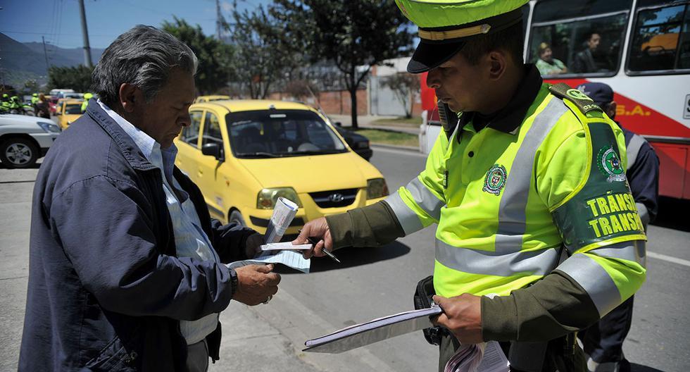 Existe un fuerte control del Pico y Placa en Colombia. Las autoridades aplican con rigurosidad esta medida en todo el territorio. (Foto: AFP)