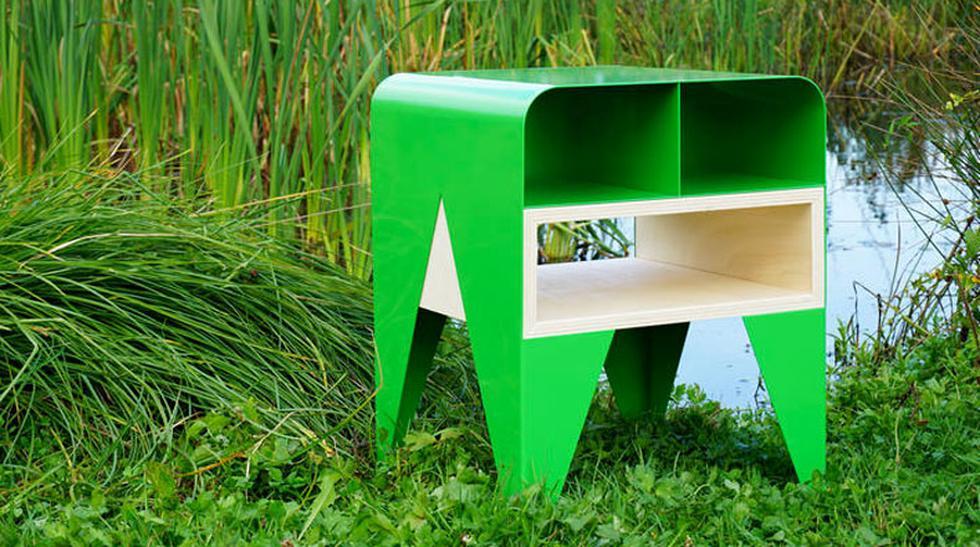 Diseñan una novedosa mesa inspirada en una rana - 1