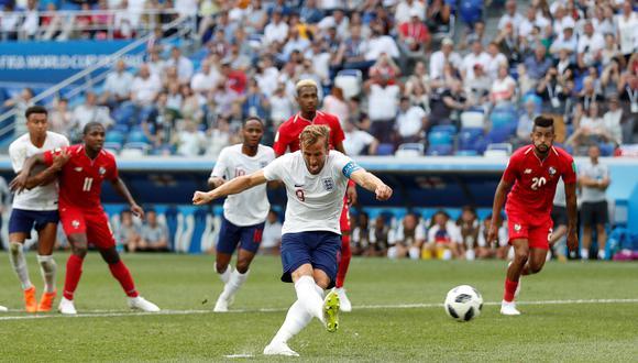 Panamá vs. Inglaterra: Harry Kane marcó doblete de penal en duelo por Rusia 2018. (Foto: AFP)
