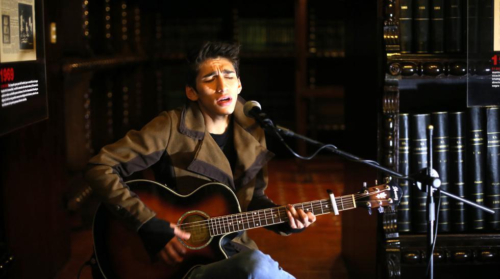 """Daniel Lazo y su presentación acústica desde """"El Comercio"""" - 2"""