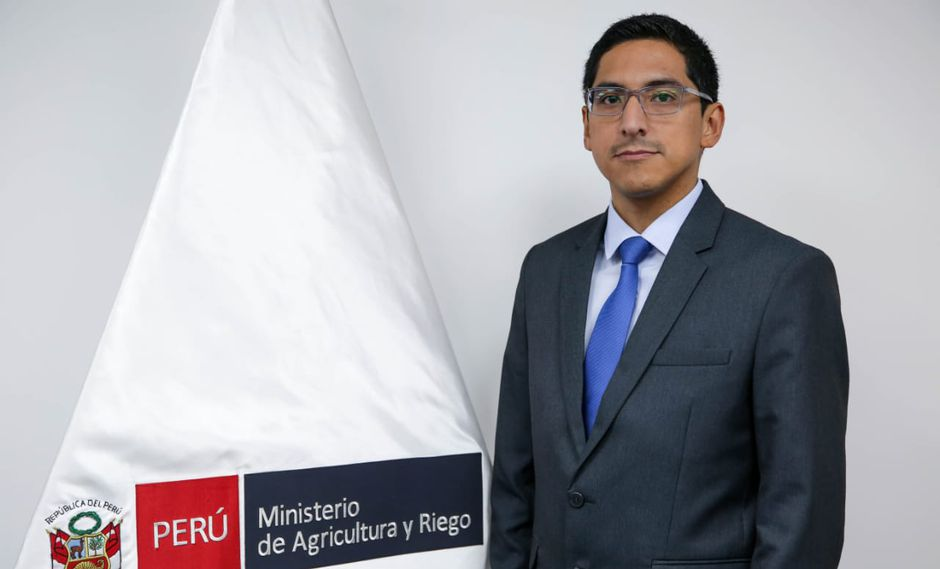 Carlos Ynga La Plata sucede en el cargo de viceministro a Jorge Montenegro, actual titular de Minagri. (Foto: GEC)
