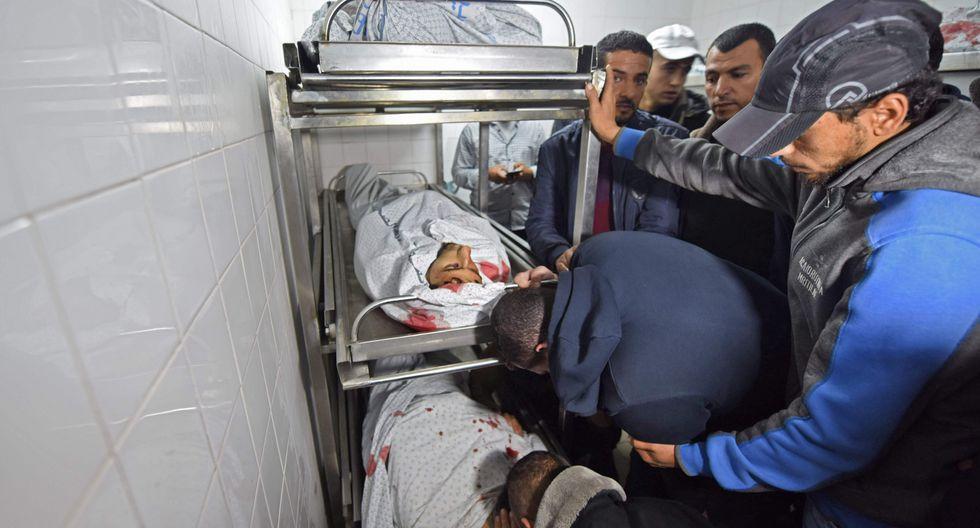 Seis palestinos muertos durante operación militar israelí en Gaza. (AFP).