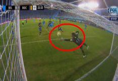 Boca Juniors vs. Belgrano EN VIVO: Andrada realizó magistral atajada para evitar caída de su arco | VIDEO