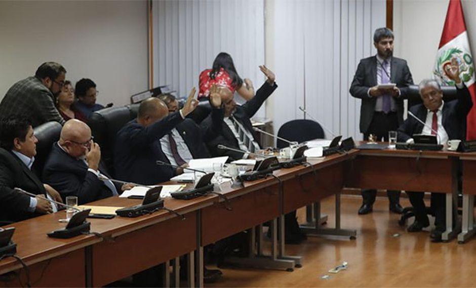 Comisión de Ética Parlamentaria sesionó hoy por primera vez en la presente legislatura, bajo la presidencia de Janet Sánchez. (Foto: GEC)