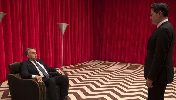 """""""Twin Peaks"""". De izquierda a derecha Leland (Ray Wise) y Dale Cooper (Kyle MacLachlan), personajes cruciales de la serie. (Foto: Showtime)"""