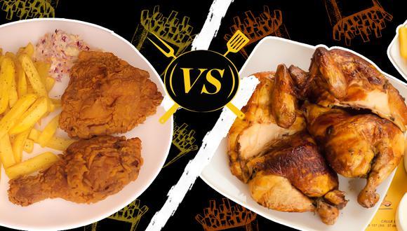 Pollo broaster o a la brasa. Y tú, ¿qué estilo prefieres?