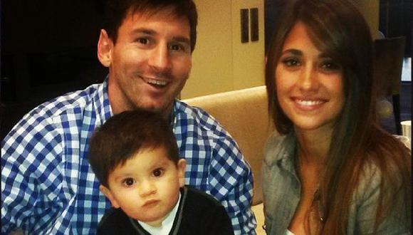 Messi desayunó en su ciudad natal y prometió ganar el Mundial