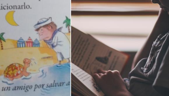 El cuento infantil no deja de ser comentado en Internet. (Foto: @CazalillaB en Twitter y StockSnap en Pixabay)