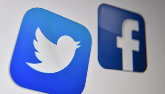 El CEO de Facebook, Mark Zuckerberg y el de Twitter, Jack Dorsey, serán interpelados el martes por la Comisión de Asuntos Jurídicos del Senado de Estados Unidos. (Foto: Denis Charlet / AFP).