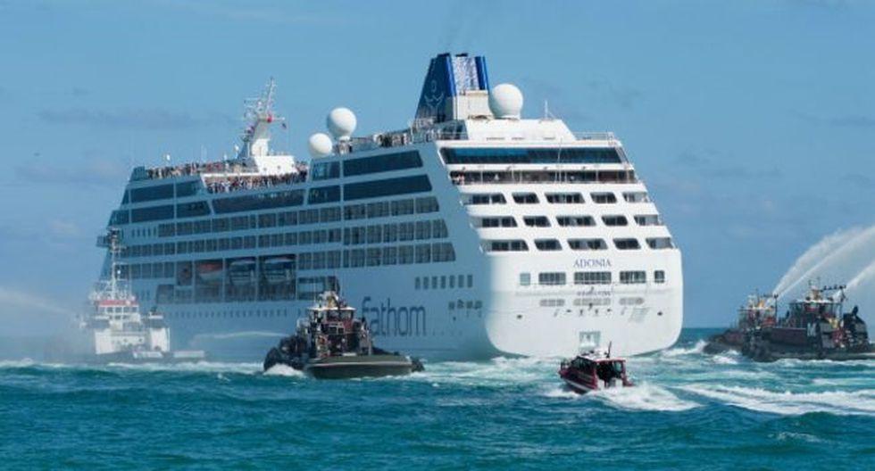 ¿Cómo es viajar en el primer crucero entre EE.UU. y Cuba?