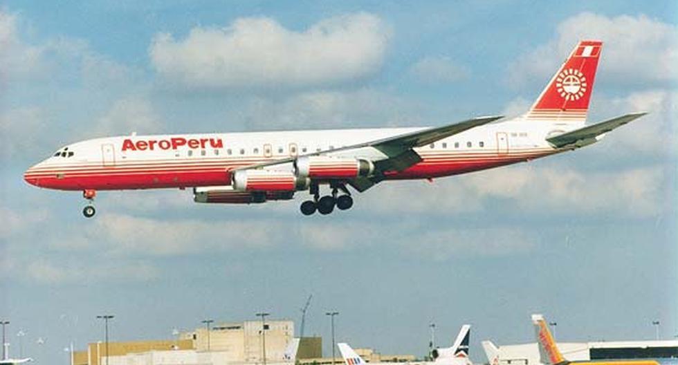 AeroPerú fue la última aerolínea de bandera que tuvo nuestro país. Operó entre 1976 y finales de los 90. Terminó en bancarrota, tras una venta muy cuestionada a Aeroméxico. (FOTO: Archivo Histórico de El Comercio).