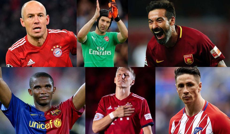 Jugadores de infancia: el top 20 de los futbolistas que decidieron retirarse del fútbol este 2019 [FOTOS]