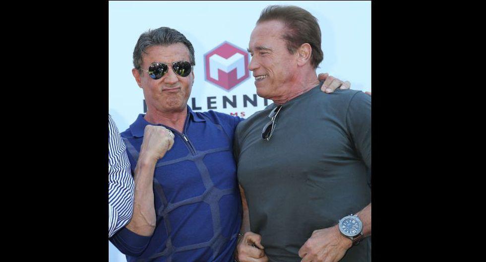 Schwarzenegger y Stallone: de enemigos a inseparables amigos - 10