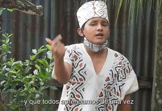 Ucayali: joven lanza rap y retrata el sentir de las comunidades indígenas frente al COVID-19 | VIDEO
