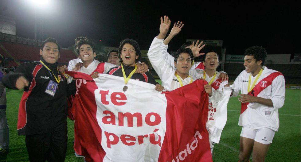 Los 'jotitas' cumplieron la campaña más decente de Perú en el Sudamericano Sub 17, en 2007. (Foto: GEC)
