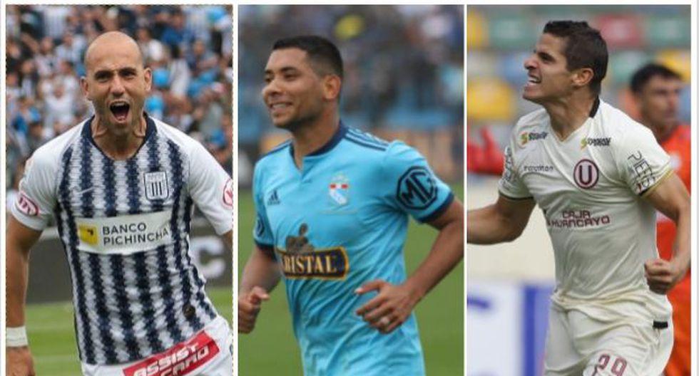 Alianza Lima, Universitario y Sporting Cristal jugarán la Copa Libertadores 2020. (Foto: Alianza Lima / Sporting Cristal / Violeta Ayasta / GEC)