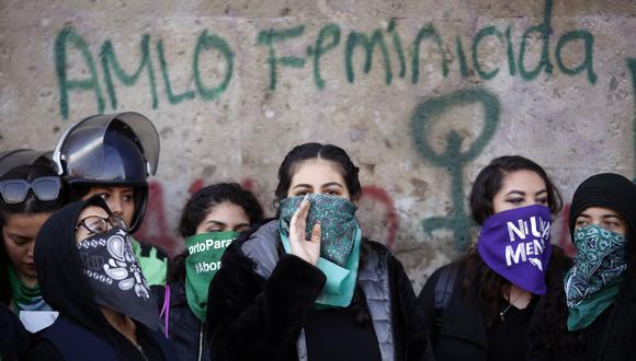 Los colectivos feministas acusan al presidente de México de no hacer lo suficiente para frenar la ola de feminicidios. (REUTERS/Gustavo Graf).