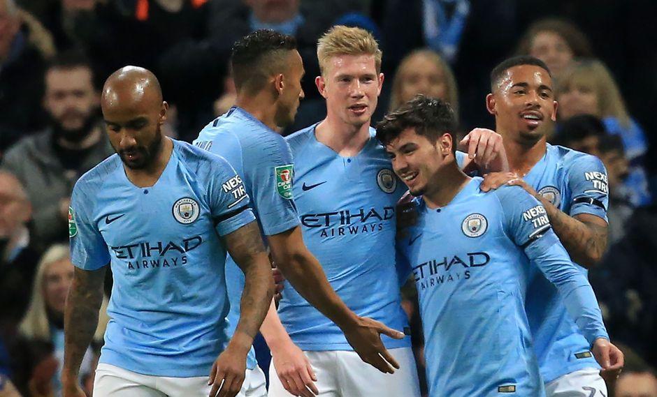 Manchester City vs. Fulham EN VIVO: por los octavos de final de la Copa de la Liga de Inglaterra. (Foto: AFP)