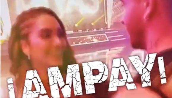 Isabel Acevedo besó a misterioso galán y no es Diego Zurek. (Foto: Captura Magaly TV: La Firme)