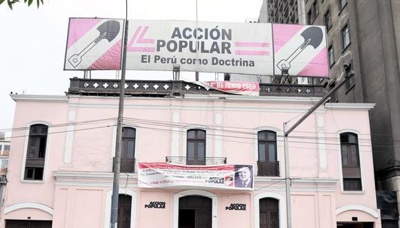 Miembros del partido de Acción Popular enviaron un oficio a los miembros de la bancada legislativa. (Foto: Juan Ponce Valenzuela)