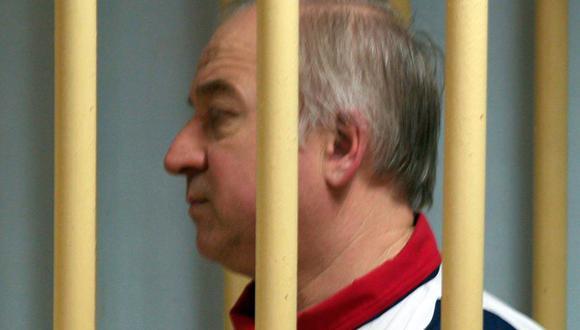 Ex espía ruso Serguei Skripal fue víctima de un intento de asesinato con agente nervioso. (AFP).