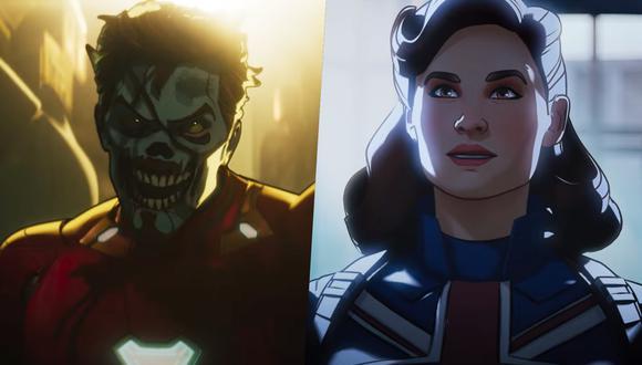 """Un Iron Man zombie y Peggy Carter con los poderes del Capitán América son solo algunas de las historias alternas que aparecerán en """"What If...?"""". Foto: Marvel Studios."""