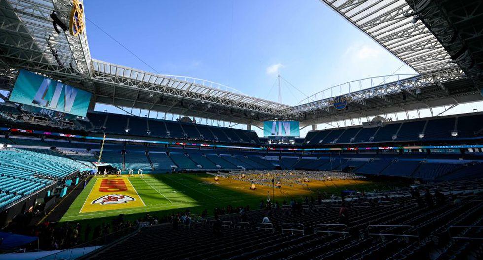 Super Bowl 2020 se disputará el domingo 02 de febrero desde el Hard Rock Stadium de Miami   Foto: Agencias