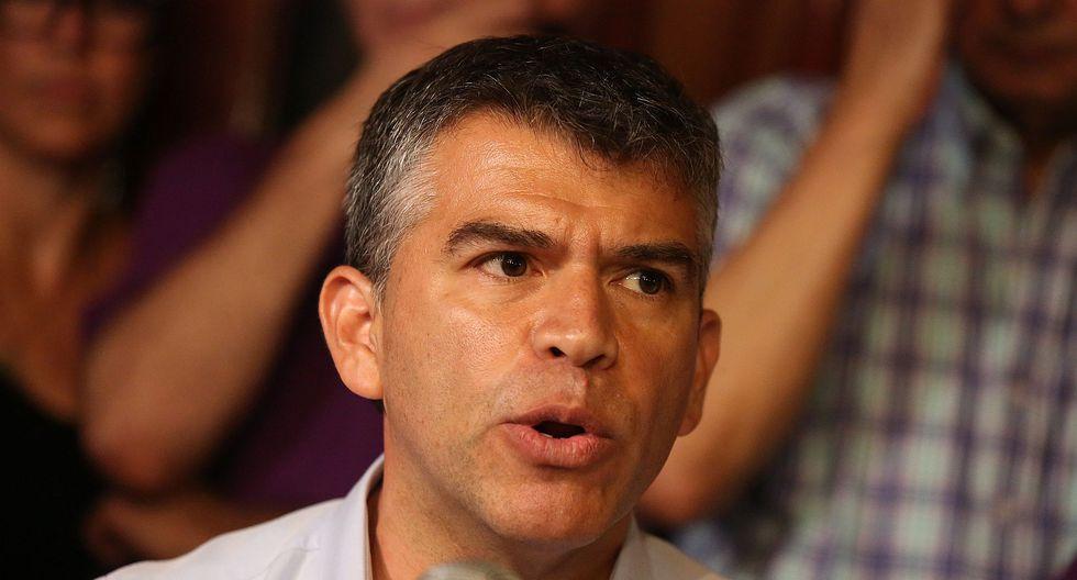 Julio Guzmán conformó su propio partido político tras intentar ser candidato presidencial en el 2016. (Foto: GEC)