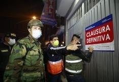 Clausuran 10 hostales y tres bares en operativo contra la prostitución clandestina en SJL