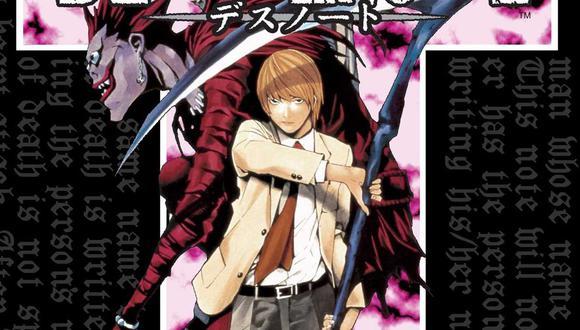 """Portada del primer volumen de """"Death Note"""", uno de los mangas más vendidos de la historia. Foto: Shueisha."""