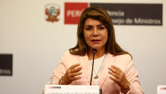 La ministra de Salud pidió a la ciudadanía tener mayor preocupación por la salud mental. (Foto: GEC)