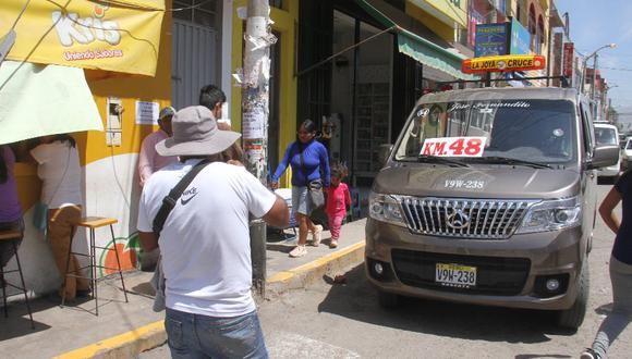 Arequipa: Piden excluir a Arequipa de ley que formalizaría a colectiveros.