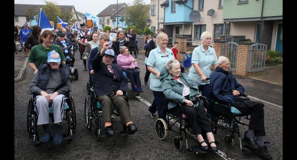 Escocia: alta participación en el histórico referéndum