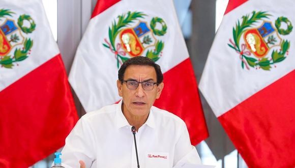 Presidente Martín Vizcarra señala que se pondrá a disposición de la fiscal de la Nación para declarar sobre el caso Richard Swing, pero reitera que no hay delito alguno (Foto: Presidencia)